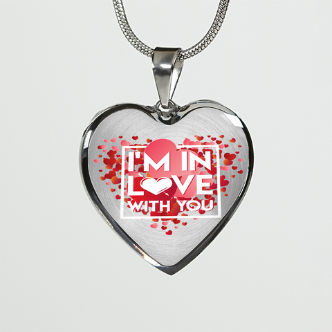 ShineOn Fulfillment Necklaces Pendant Heart Luxury Steel Pendant Necklace - In Love With You (Heart)