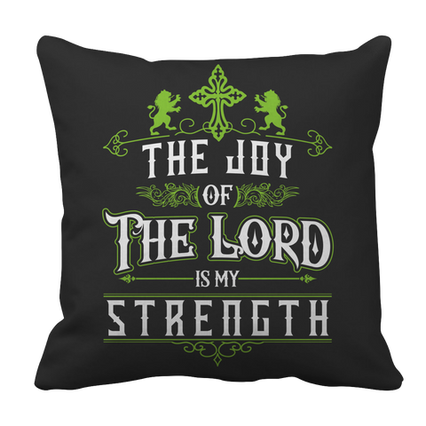 PT Pillow Cases Pillow Cases / Black The Joy Of The Lord