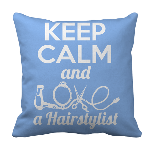 PT Pillow Cases Pillow Cases / Light Blue Limited Edition - Love a Hairstylist