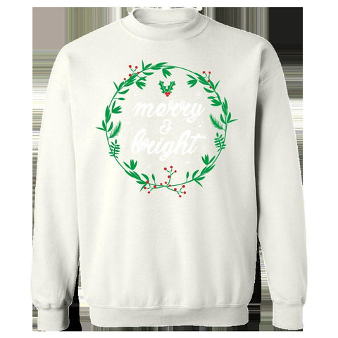 Image of Kent Prints Sweatshirt 5XL / White Merry and Bright-FA - Sweatshirt