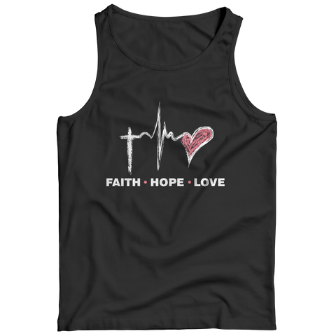PT Tank Top Tank Top / Black / S Faith Hope Love (Tank Top)