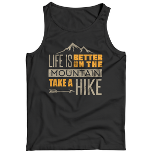 PT Tank Top Tank Top / Black / S Life Is Better On The Mountains (Tank Top)