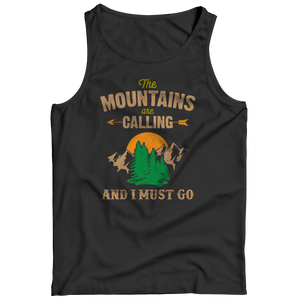 PT Tank Top Tank Top / Black / S The Mountains Are Calling (Tank Top)