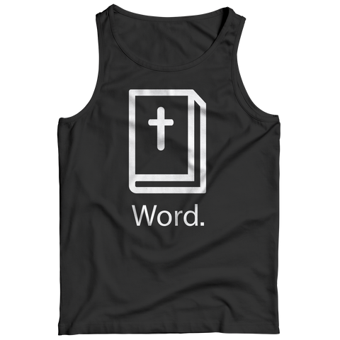 PT Tank Top Tank Top / Black / S Word (Tank Top)