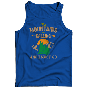 The Mountains Are Calling (Tank Top)