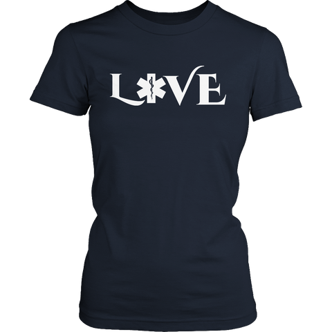 Image of PT Unisex Shirt Ladies Classic Shirt / Navy / S Limited Edition - EMS Love-across