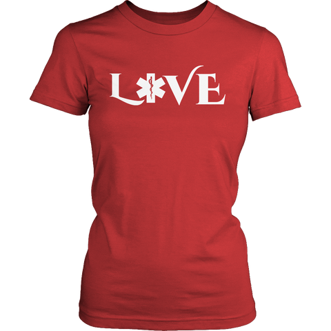 Image of PT Unisex Shirt Ladies Classic Shirt / Red / S Limited Edition - EMS Love-across