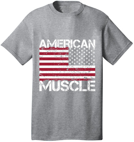 Image of Kent Prints Unisex Shirt S / Athletic Heather American Muscle - Unisex T Shirt