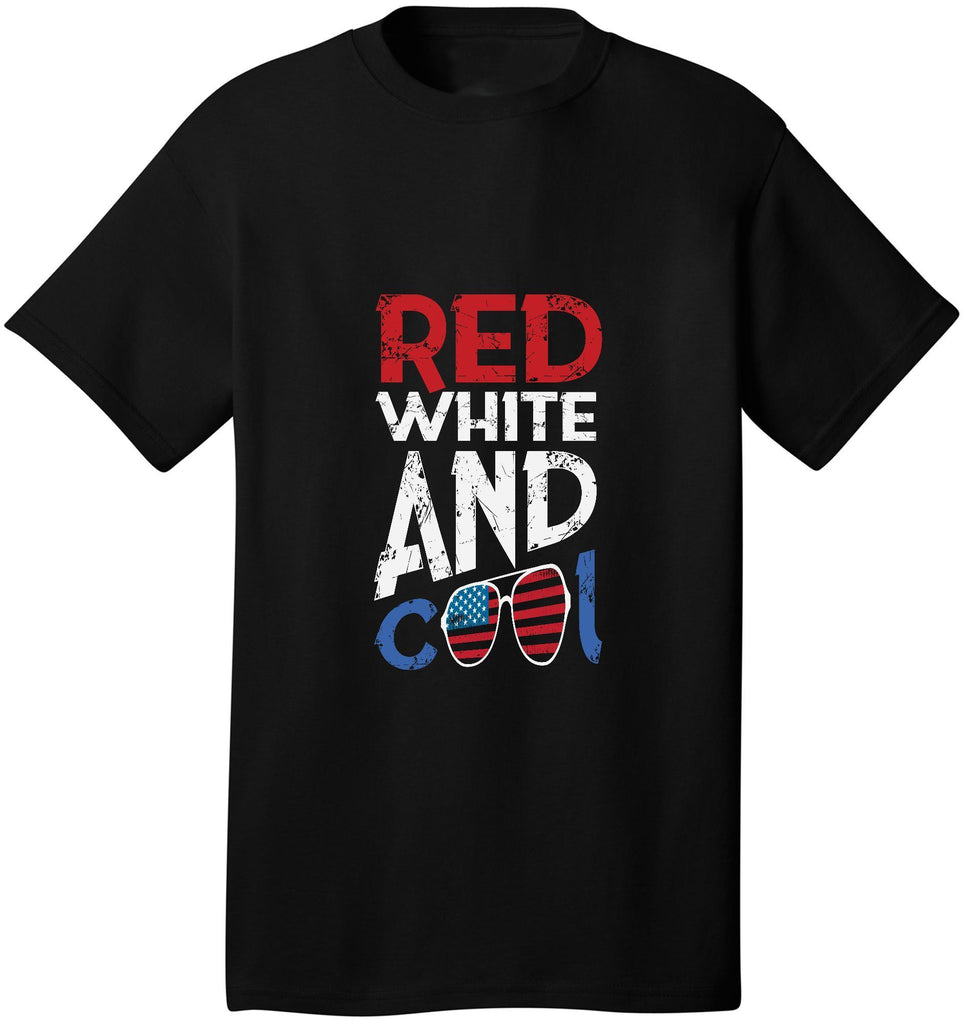 Kent Prints Unisex Shirt S / Black Red White & Cool - Unisex T Shirt