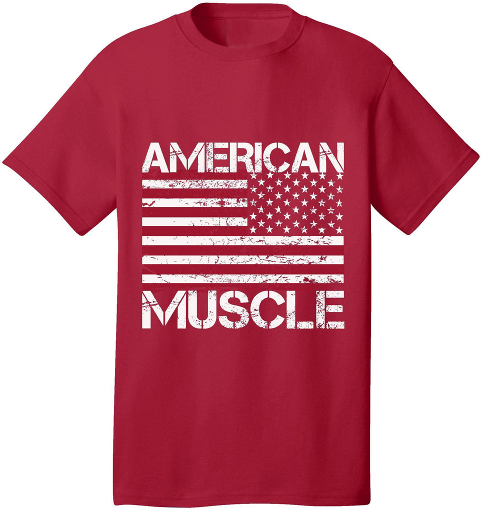 Kent Prints Unisex Shirt S / Red American Muscle - Unisex T Shirt