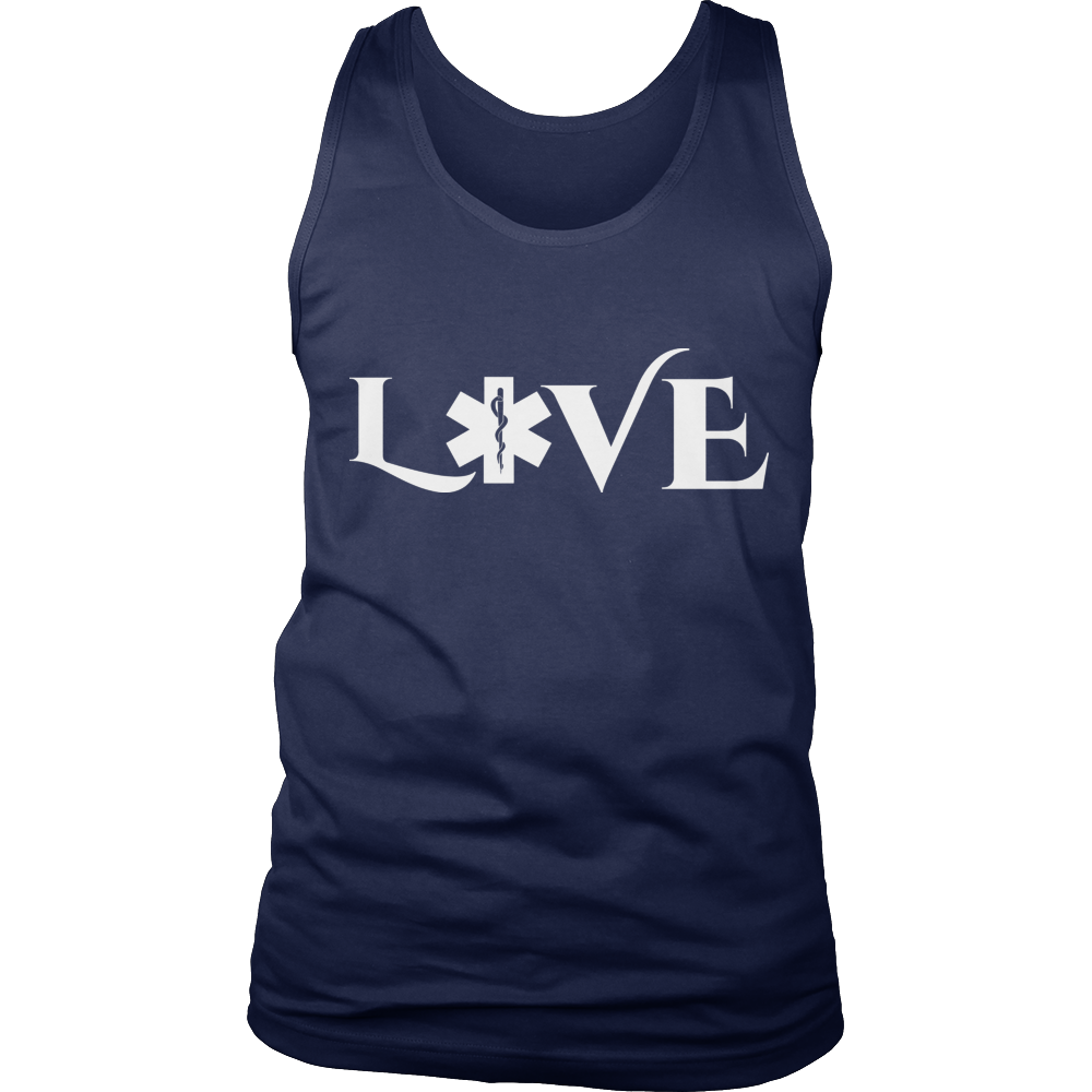 PT Unisex Shirt Tank Top / Navy / S Limited Edition - EMS Love-across