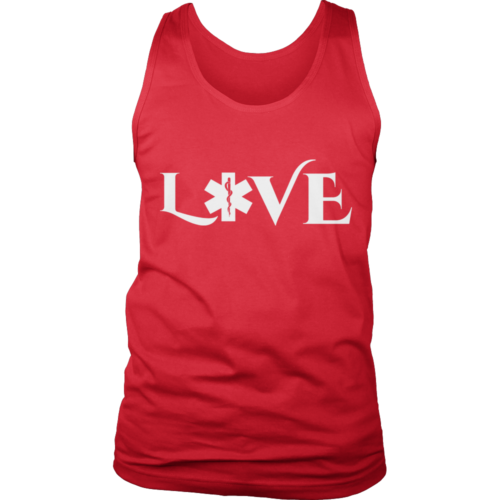 PT Unisex Shirt Tank Top / Red / S Limited Edition - EMS Love-across