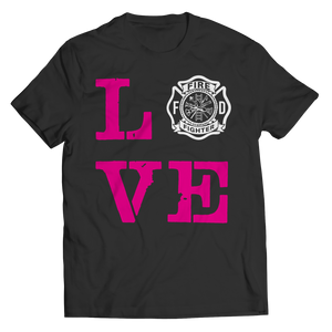Limited Edition - Firefighter Wife Love (Unisex Tee)