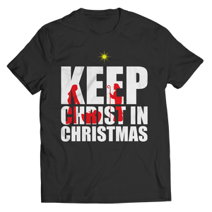 PT Unisex Shirt Unisex Shirt / Black / S Limited Edition - Keep Christ in Christmas (Unisex Tee)