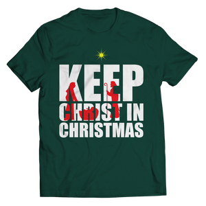 Limited Edition - Keep Christ in Christmas (Unisex Tee)