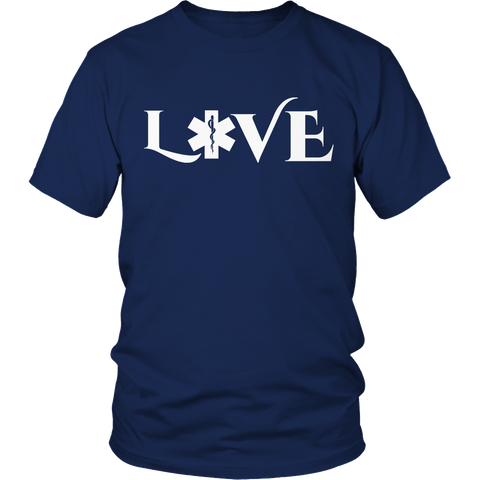 Image of PT Unisex Shirt Unisex Shirt / Navy / S Limited Edition - EMS Love-across