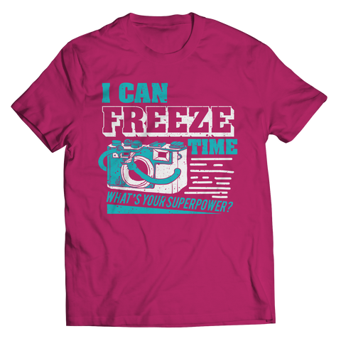 Image of PT Unisex Shirt Unisex Shirt / Pink / S Freeze Time (Unisex Tee)