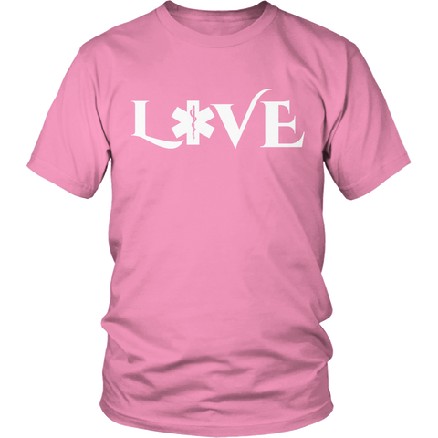 Image of PT Unisex Shirt Unisex Shirt / Pink / S Limited Edition - EMS Love-across