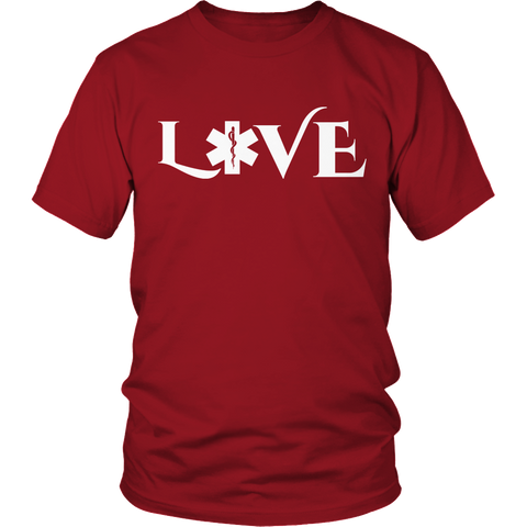 Image of PT Unisex Shirt Unisex Shirt / Red / S Limited Edition - EMS Love-across