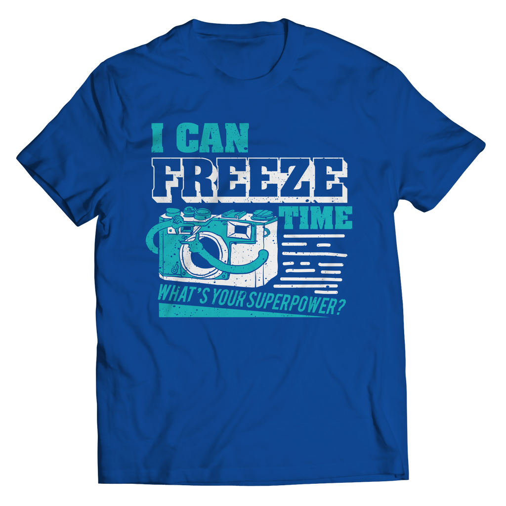 PT Unisex Shirt Unisex Shirt / Royal / S Freeze Time (Unisex Tee)