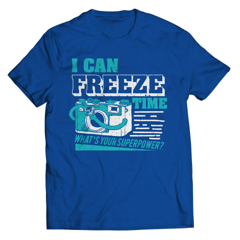Image of PT Unisex Shirt Unisex Shirt / Royal / S Freeze Time (Unisex Tee)