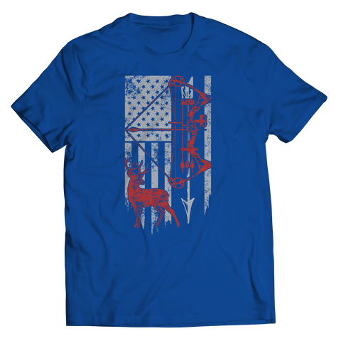 Image of PT Unisex Shirt Unisex Shirt / Royal / S Hunting Flag (Unisex Tee)