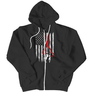 PT Zipper Hoodie Zipper Hoodie / Black / L Limited Edition - Hairstylist Flag (Zipper Hoodie)