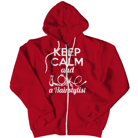 PT Zipper Hoodie Zipper Hoodie / Red / L Limited Edition - Love a Hairstylist (Zipper Hoodie)
