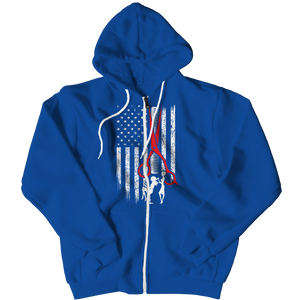 Limited Edition - Hairstylist Flag (Zipper Hoodie)