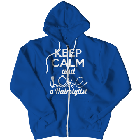 PT Zipper Hoodie Zipper Hoodie / Royal / L Limited Edition - Love a Hairstylist (Zipper Hoodie)