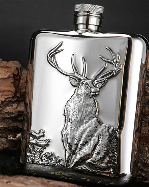 Luxury Hip Flask - Dons Den Apparel