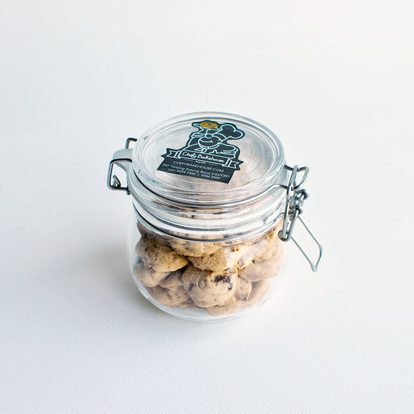 Cranberry White Choc (jar)