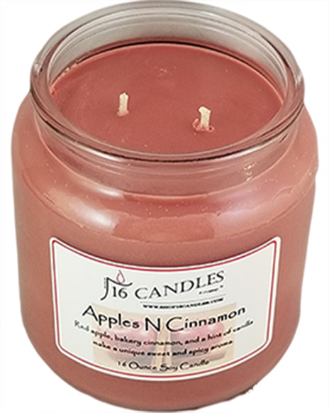 16 Ounce Jar Candles Now Come with 2 Wicks