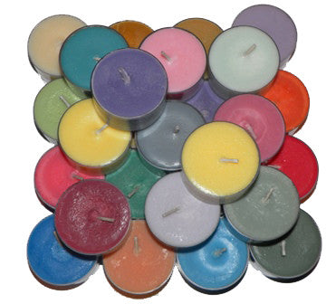 Unscented Tea Light 25 Pack ~ Shop16Candles