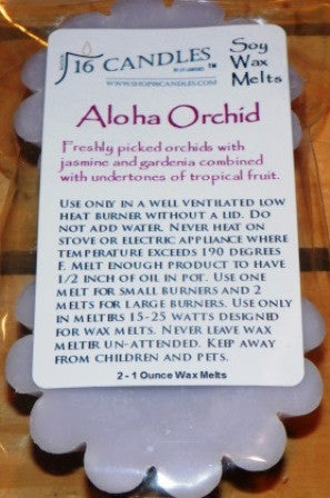 Aloha Orchid ~ Scented Wax Melts - Shop16Candles