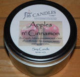 Apples N Cinnamon ~ Large 2 Wick Tin