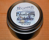 Blueberry Cobbler ~ Small Tin Soy Candle