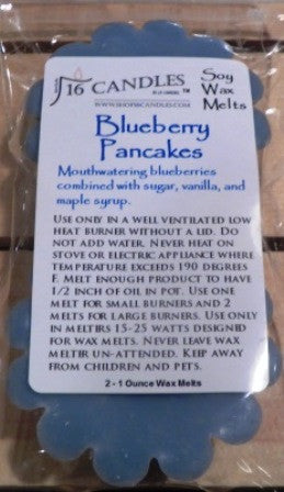 Blueberry Pancakes ~ Scented Wax Melts - 16 Candles by J.P. Lawrence