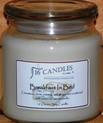 Breakfast In Bed ~ 16 Oz Soy Candle - Shop16Candles