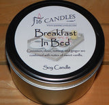 Breakfast in Bed ~ Large 2 Wick Tin