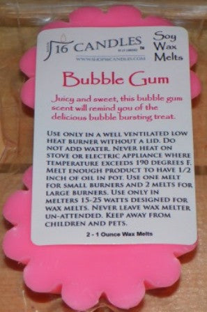 Bubble Gum ~ Scented Wax Melts - Shop16Candles