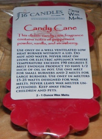 Candy Cane - Scented Wax Melts