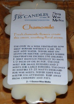 Chamomile ~ Scented Wax Melts - 16 Candles by J.P. Lawrence