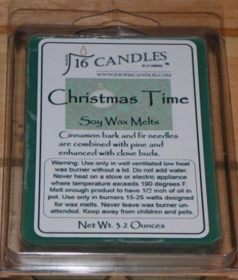 Christmas Time ~ Scented Wax Melts