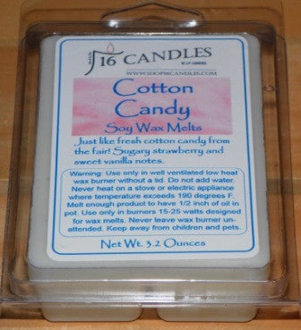 Cotton Candy ~ Soy Wax Melts - Shop16Candles