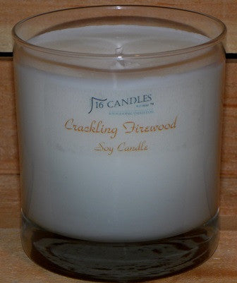 Crackling Firewood ~ Tumbler Glass Soy Candle