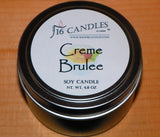 Creme Brulee ~ Small Tin Soy Candle