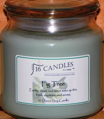 Fig Tree ~ 16 Oz Soy Candle - Shop16Candles