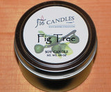 Fig Tree ~ Small Tin Soy Candle