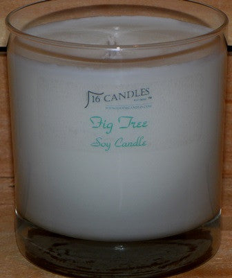 Fig Tree ~ Tumbler Glass Soy Candle